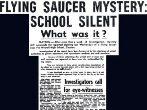 WESTALL UFO PRESS CLIPPING